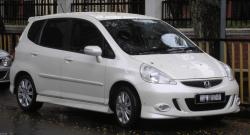 HONDA JAZZ white