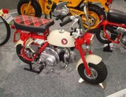 HONDA MONKEY 50 engine