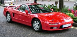 HONDA NSX red