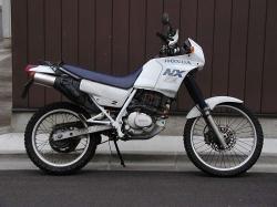 HONDA NX 125 green