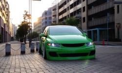 HONDA ODYSSEY green