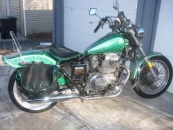 HONDA REBEL green
