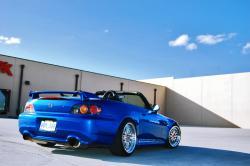 HONDA S 2000 blue