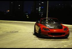 HONDA S 2000 red