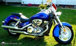 HONDA SABRE blue
