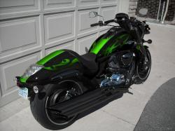 HONDA SHADOW green