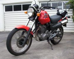 HONDA SLR 650 brown