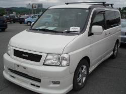 HONDA STEPWAGON white