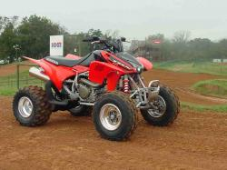 HONDA TRX 450 brown