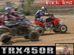 HONDA TRX 450 white