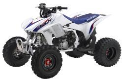 HONDA TRX450R white