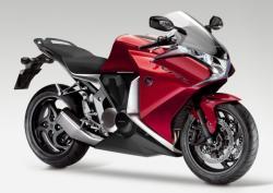 HONDA VFR 1000 red