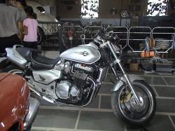 HONDA X4 silver