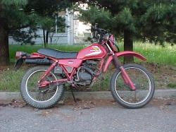 HONDA XL 125 brown