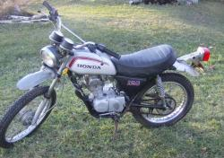 HONDA XL 125 silver