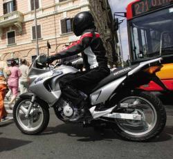 HONDA XL125V VARADERO white