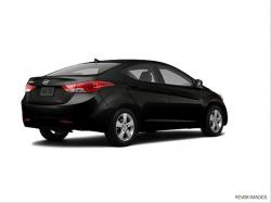 HYUNDAI ELANTRA AT black