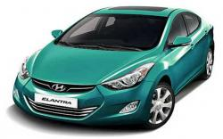 HYUNDAI ELANTRA AT green