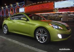 HYUNDAI GENESIS COUPE green
