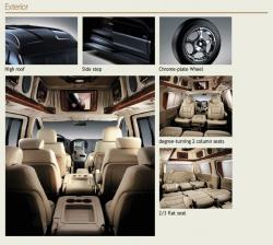 HYUNDAI GRAND STAREX brown