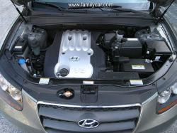 HYUNDAI SANTA FE engine