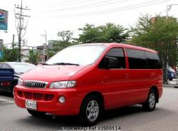 HYUNDAI STAREX red