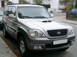 HYUNDAI TERRACAN brown