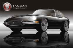 JAGUAR E-TYPE 1 black