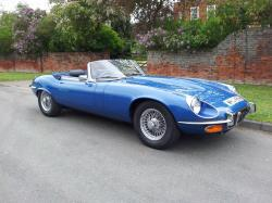 JAGUAR E-TYPE 1 blue