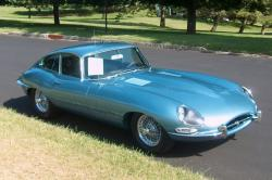 JAGUAR E-TYPE blue