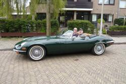 JAGUAR E-TYPE green