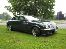 JAGUAR S-TYPE green