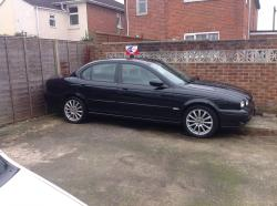 JAGUAR X-TYPE 2.0 D black
