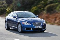 JAGUAR XF blue