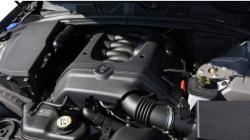 JAGUAR XF engine