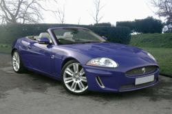 JAGUAR XK blue