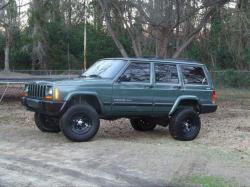 JEEP CHEROKEE green