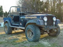 JEEP CJ 7 black