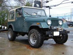 JEEP CJ 7 green
