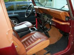 JEEP CJ 7 interior