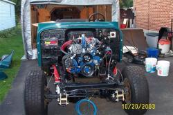 JEEP CJ engine