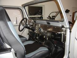 JEEP CJ interior