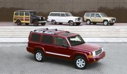 JEEP COMMANDER blue