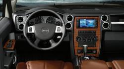 JEEP COMMANDER interior