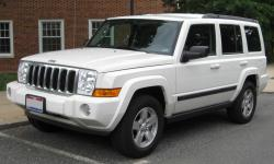 JEEP COMMANDER white