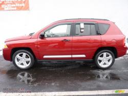 JEEP COMPASS 4X4 red