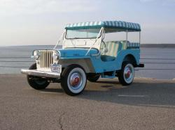 JEEP WILLYS blue