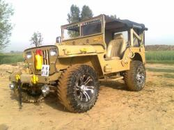 JEEP WILLYS brown