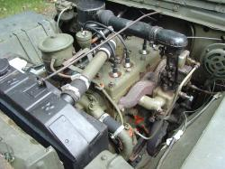 JEEP WILLYS engine