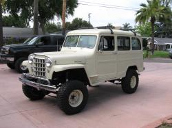 JEEP WILLYS white